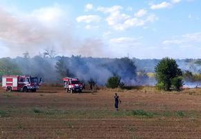 Пожар унищожи 50 тона бали с фураж