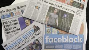 """Австралия спря реклами във """"Фейсбук"""" на стойност милиони долари"""