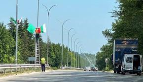 Връщат знамената на пътя към 5-ти километър