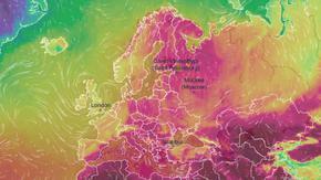 Гореща вълна мъчи най-северните части на Европа