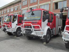 Пожар горя в дърводелски цех в Салманово след късо съединение в ел. табло