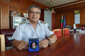 Директорът на шуменската пожарна комисар Иван Иванов е награден от МВР
