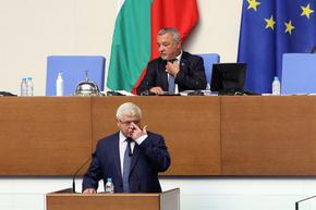След критиките на президента МФ обяви, че бюджетът е съгласуван с него, той обаче отрича