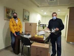 БТТИК дари предпазни средства на здравни и социални заведения в Шумен