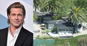 Ваканционната къща на Брад Пит в опасна близост с горски пожар в Калифорния