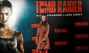 Алисия Викандер: Нямам търпение отново да изиграя Лара Крофт