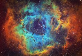 Откриха древна галактика, която прилича на гигантски огнен пръстен