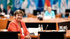 Годишната среща на МВФ започва в сянката на спора за бъдещето на Кристалина Георгиева