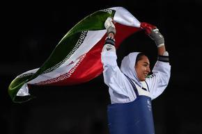 Единствената олимпийска медалистка на Иран е отказала да се състезава за България
