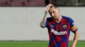 "Меси е спрял преговорите за нов договор с ""Барселона"""