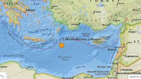 Силен трус в Средиземно море бе усетен в пет държави
