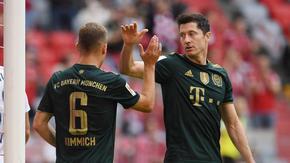 """Байерн"" вкара седем гола, а Левандовски постави нов рекорд"