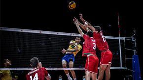 Загуба от Бразилия продължи лошата серия на волейболистите