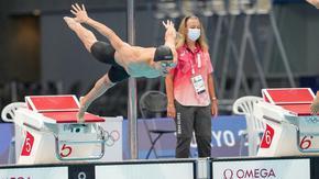 Йосиф Миладинов стигна полуфиналите на 100 м бътерфлай