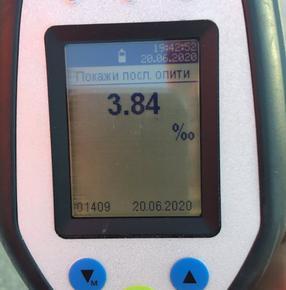 Хванаха шуменец да шофира с 3,84 промила алкохол в кръвта