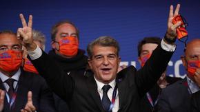 """С убедителна победа Жоан Лапорта се завърна като президент на """"Барселона"""""""