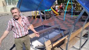 Вандали строшиха маса на нова детска площадка в Шумен