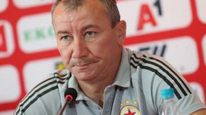 ЦСКА гледа сериозно на следващото си изпитание в Лига Европа, заяви Белчев