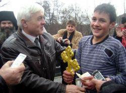 13-годишният Иван Валентинов извади кръста от Камчия