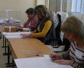 20,51% е избирателната активност в община Шумен, в областта - 24.92%