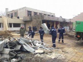 Община Никола Козлево се включи в разчистването на Хитрино
