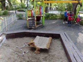 Матрак на детска площадка