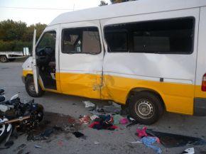 Моторист загина при ПТП в Нови пазар