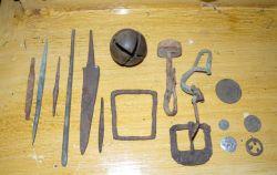 Намериха антични предмети и металотърсач у иманяр