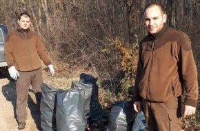 88 чувала с отпадъци събраха в акция горските от ДГС-Преслав