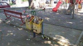 Детската площадка на Гривица