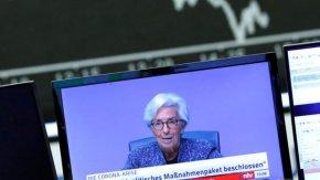 Икономиката на еврозоната може да се свие с 12% тази година