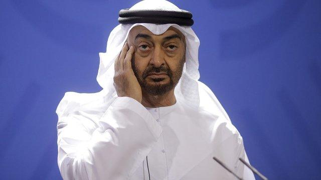 Престолонаследникът на ОАЕ Мохамед бин Зайед. Сн. АП