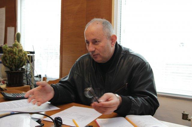 Пламен Петров, председател на Областния съвет на БЧК-Шумен, Снимка: Архив