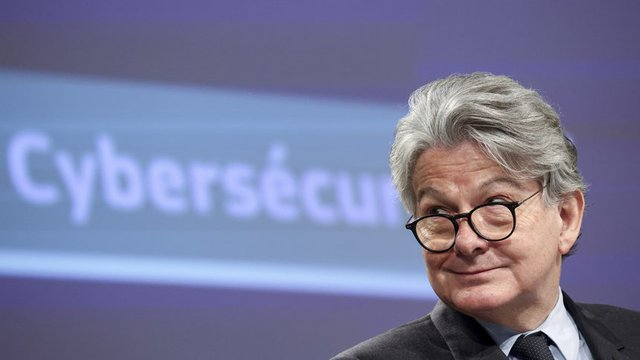 Еврокомисарят за вътрешния пазар Тиери Бретон.