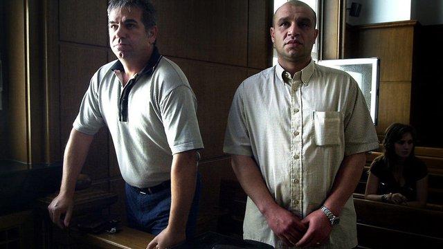 Орлин Аврамов и Пламен Калайджиев - двама от подсъдимите по делото за смъртта на Надежда Георгиева. Те бяха оправдани през 2015 година.