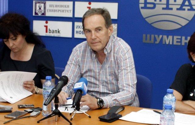 Управителят на ВиК-Шумен Илиян Илиев, Снимка: Архив