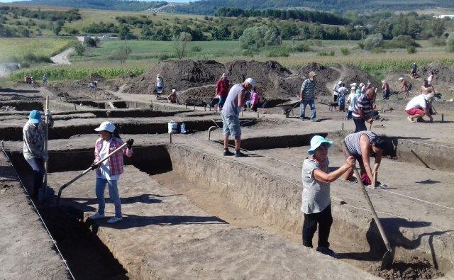 Археологическият обект при Градище, Снимка: Архив