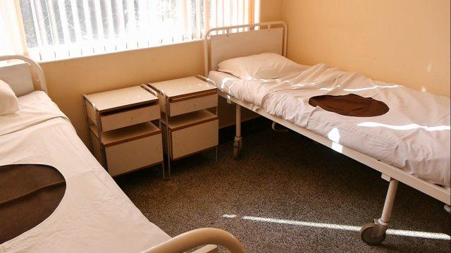 Стая в бившето Фтизиатрично отделение на МБАЛ, предвидена за пациенти с COVID–19