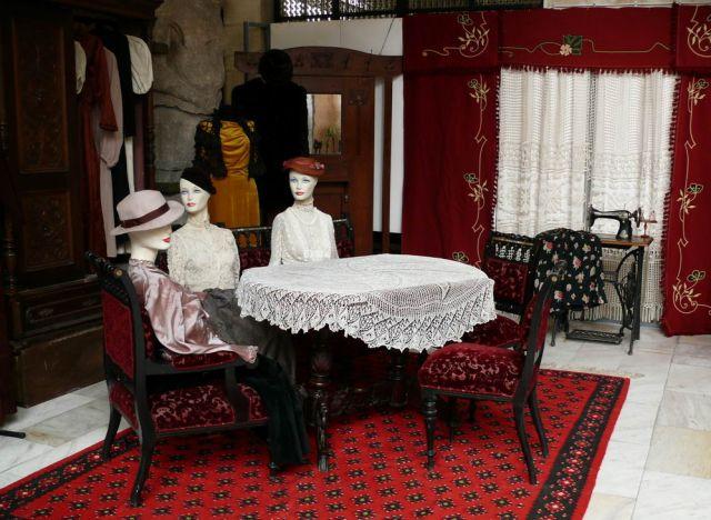 Част от експонатите на изложбата