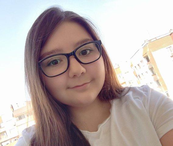 Александра Янева спечели Олимпиадата в първа възрастова група. Снимка: личен архив.