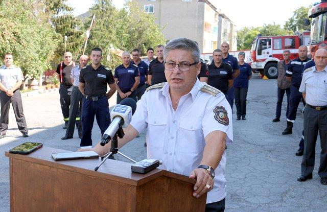 Спад на произшествиета отчете комисар Иван Иванов