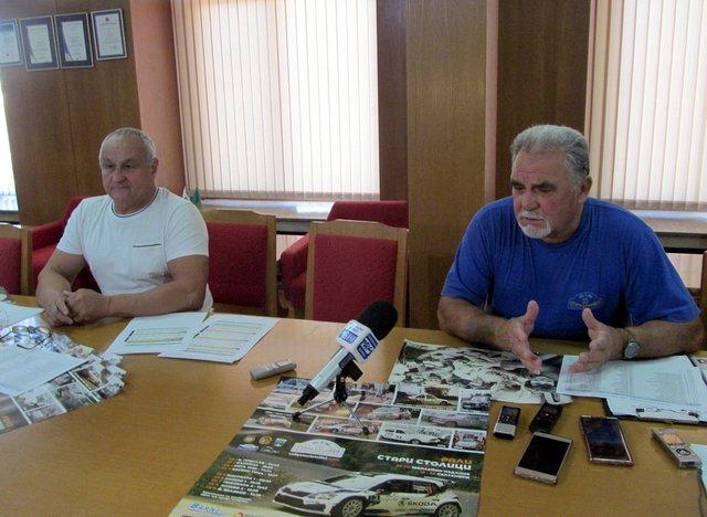 Валери Балабанов и Савко Панайотов.
