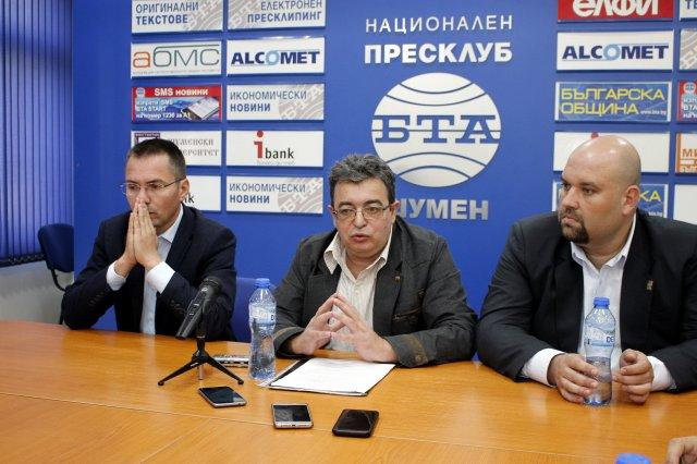 Ангел Джамбазки, Стефан Минков, Деан Станчев /л-д/