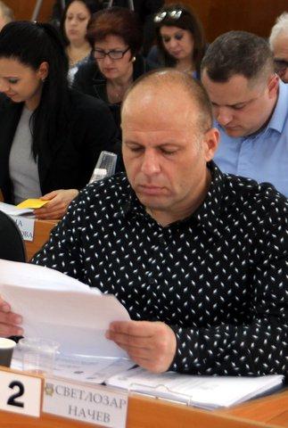 Вносителят на предложението Светлозар Начев