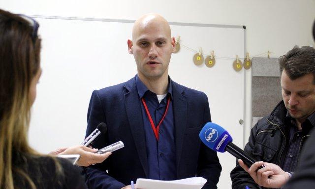 говорителят на ОИК-Шумен Дилян Нанев