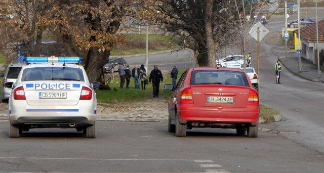 """Заради убийството днес улица """"Ген. Скобелев"""" остана затворена за движение за часове"""