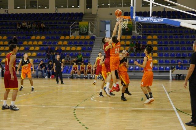 В първия мач от турнира Севран Македони победи сборния отбор от Сърбия.