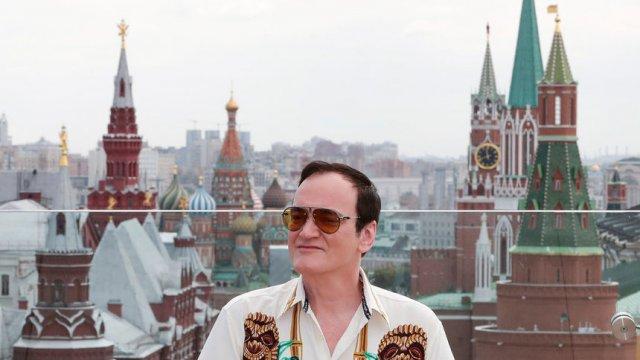 Куентин Тарантино в Москва. © Reuters