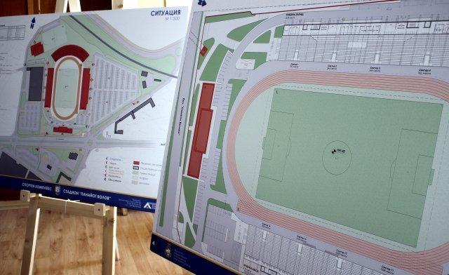 Прокетът за нов стадион