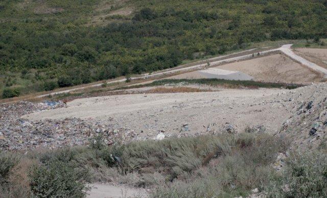 """Регионалното депо за неопасни отпадъци край """"Дивдядово"""", Сн.: Архив"""